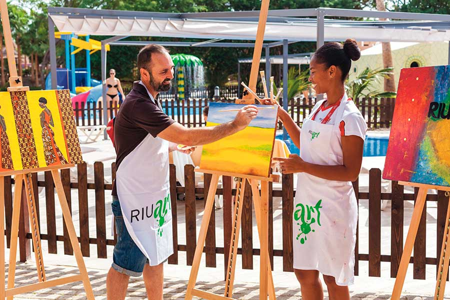 Hotel Riu Funana - Activities