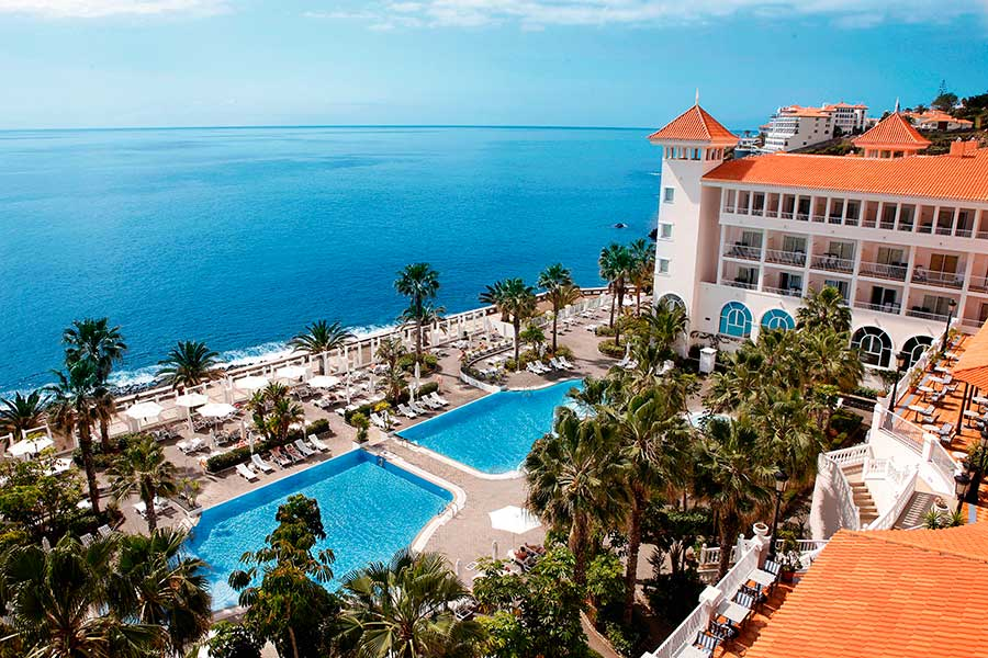 Hotel Riu Palace Madeira - Aerial view