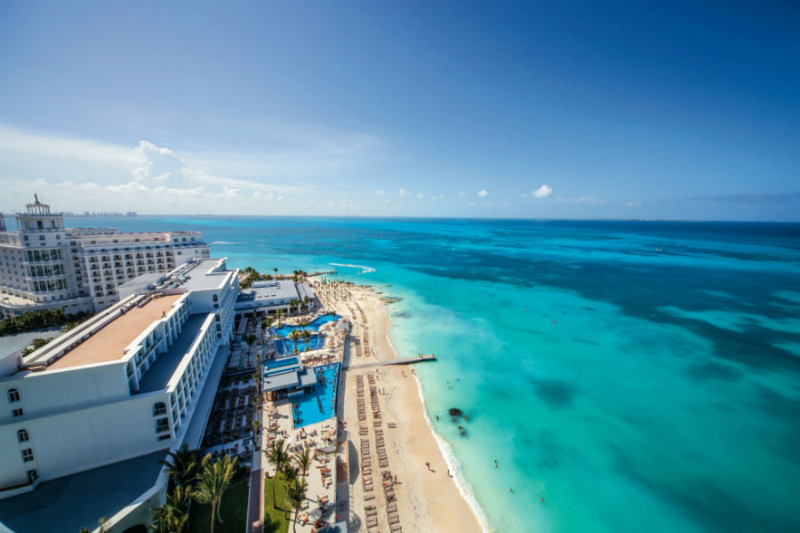 Hotel Riu Cancun - Beach